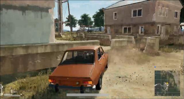 車を止めるときはブレーキではなくドリフト