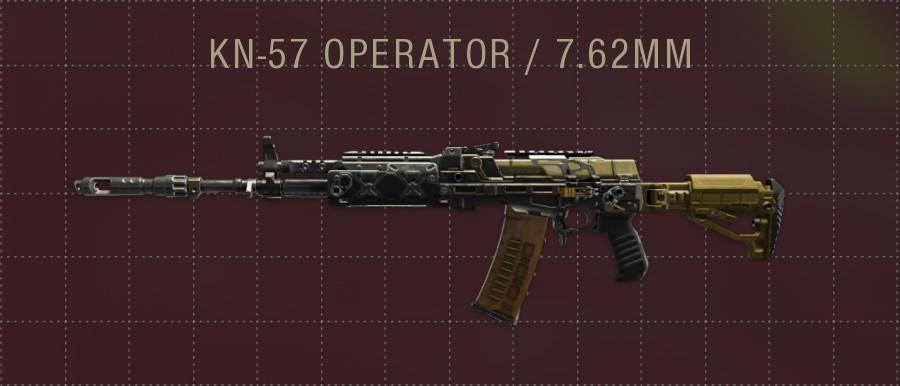 KN-57 OPERATOR
