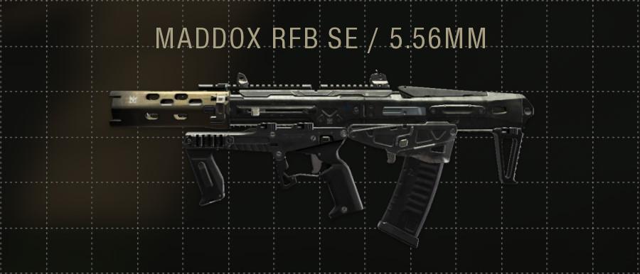 MADDOX RFB SE
