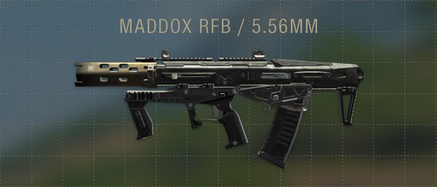 MADDOX RFB