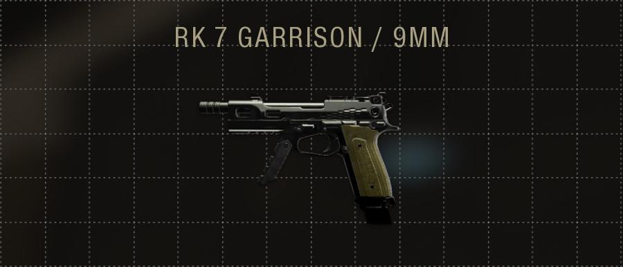RK 7 GARRISON