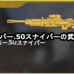 クレーバー.50スナイパーの武器性能