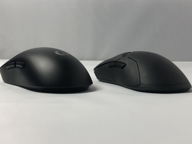 Razer Viper Ultimateと形状比較3