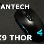 アマゾンランキング上位激安ゲーミングマウス「FANTECH X9 THOR」レビュー