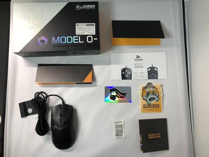 Glorious Model O-のパッケージ内容