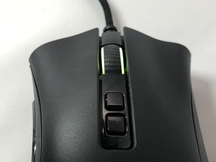 V2(DPI変更ボタン、マウスホイール)