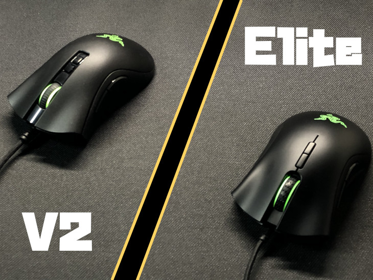 Razer DeathAdder V2 vs Elite