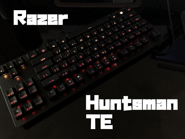 Razer Huntsman TEをレビュー