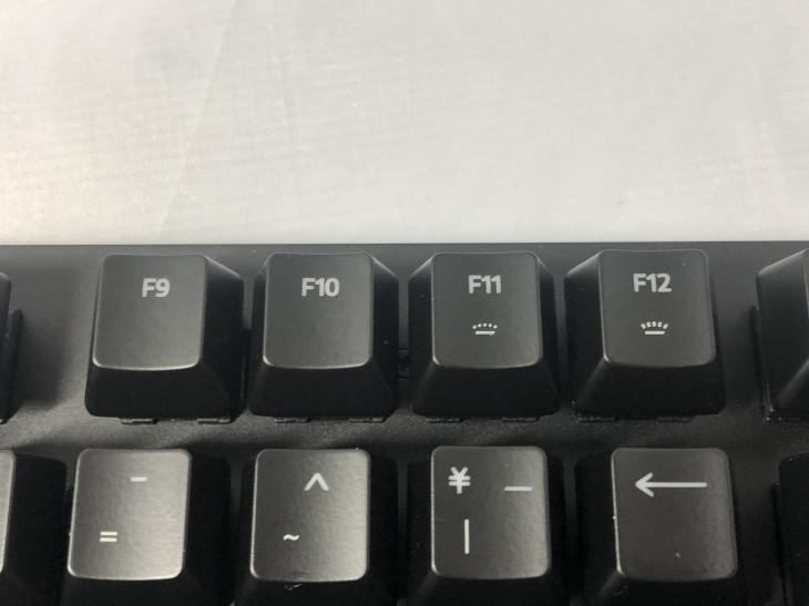 ファンクションキー(F11~F12)