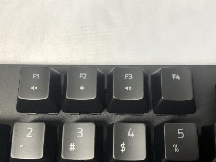 ファンクションキー(1F~3F)