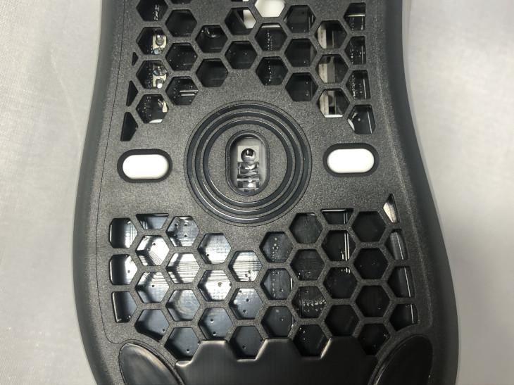 DPI変更ボタン、ライティング効果変更ボタン