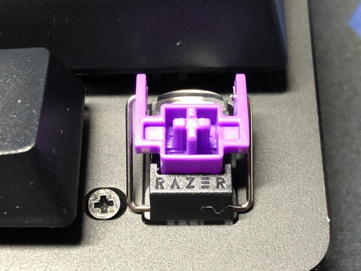 Razer Huntsman Miniのキースイッチ(軸)