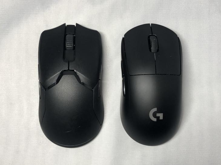 左右対称ゲーミングマウスは大きく2種類