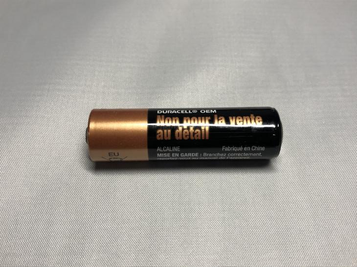 単三形乾電池