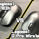 Logicool G703h VS Logicool G Pro Wireless