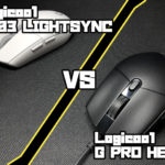Logicool G PRO HERO VS Logicool G203 LIGHTSYNC