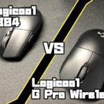 Logicool G304 VS Logicool G Pro Wireless