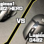 Logicool G502 HERO VS Logicool G402