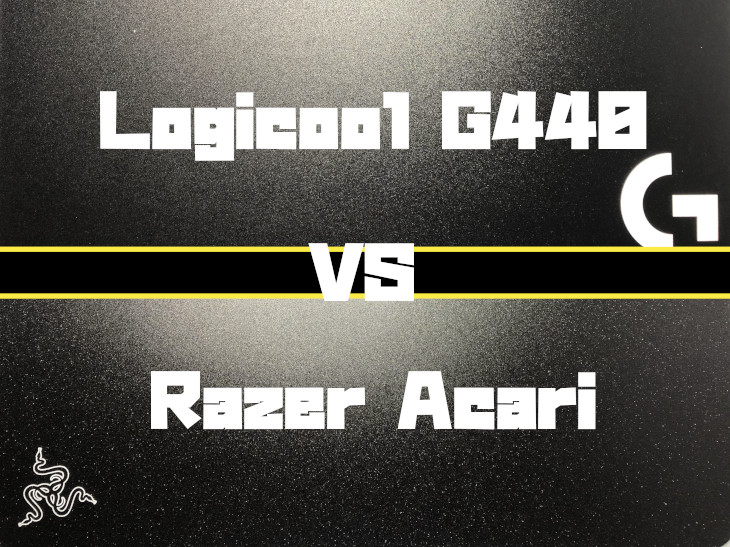 Logicool G440 VS Razer Acari