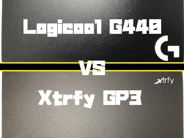 Logicool G440 VS Xtrfy GP3