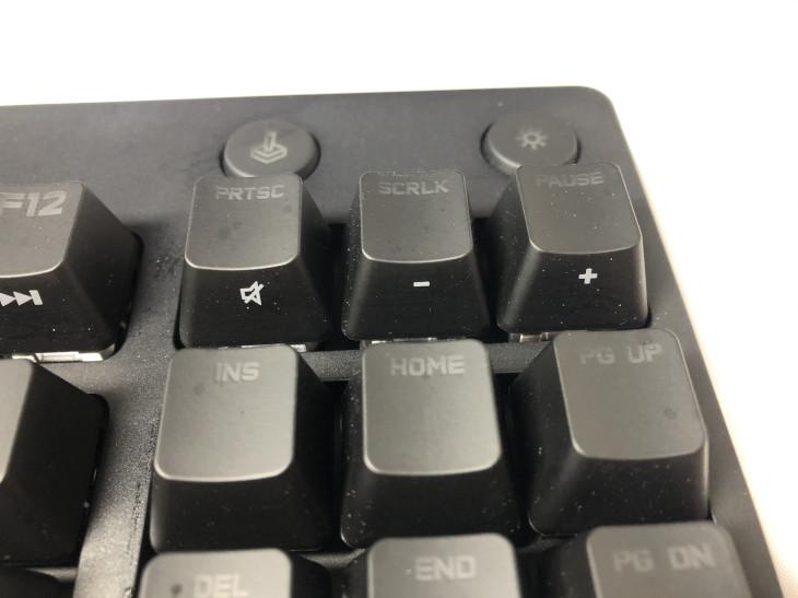ショートカットキーや専用キー2 - Logicool G PRO X キーボード