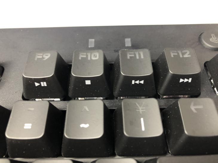 ショートカットキーや専用キー - Logicool G PRO X キーボード