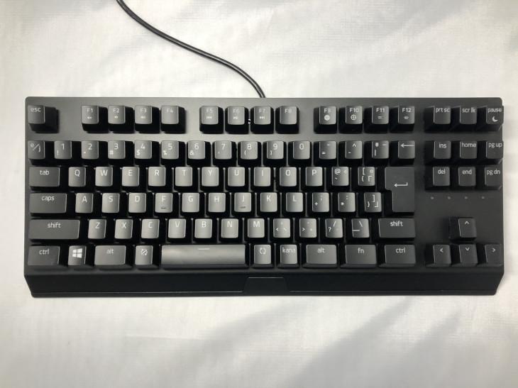 配列 - Razer BlackWidow V3 TKL