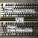 Razer BlackWidow V3 TKL VS Razer BlackWidow Lite