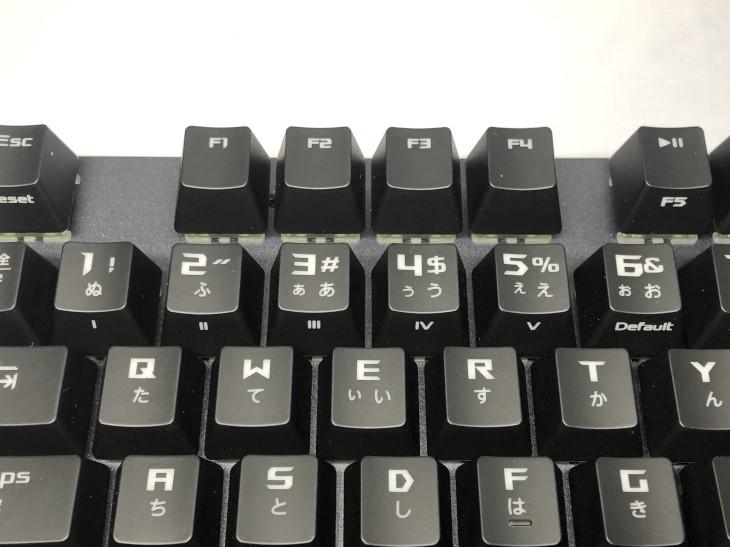 ショートカットキーや専用キー6