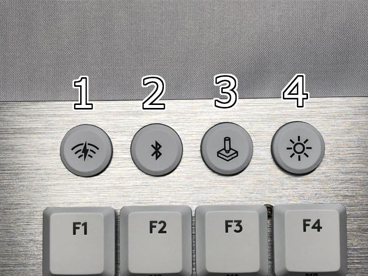ショートカットキーや専用キー2