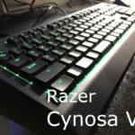 Razer Cynosa V2をレビュー
