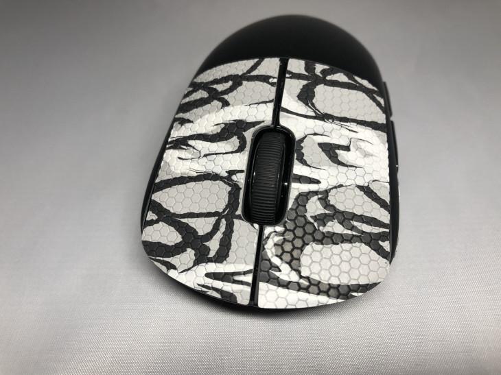 張り方 - GEMINI Mouse Grip Tape - 3