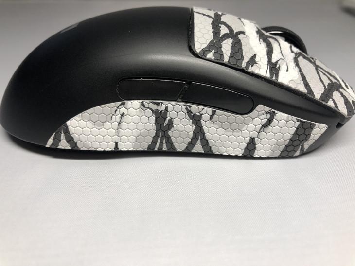 張り方 - GEMINI Mouse Grip Tape - 4