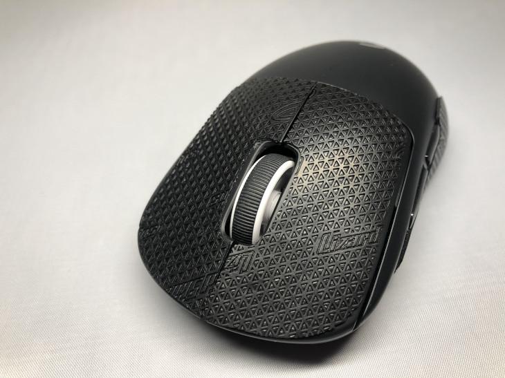 張り方 - Lizard Skins DSP マウスグリップ - 3
